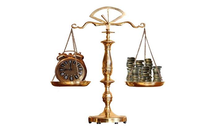 Zeit ist Geld - auch hier ist es wichtig, dass die persönliche Balance stimmt